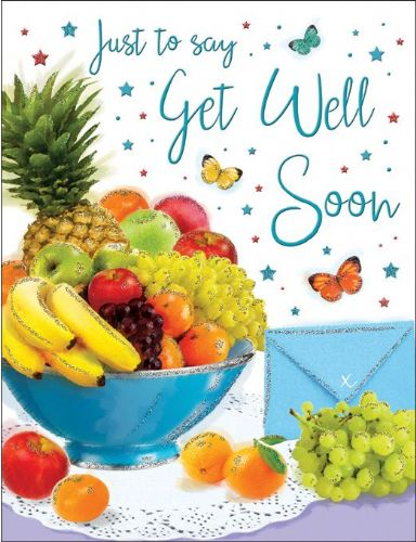 Just To Say Get Well Soon  Fruit Bowl